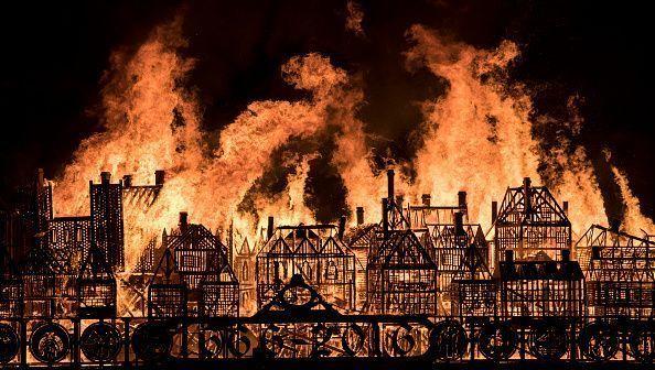 Great Fire of London.