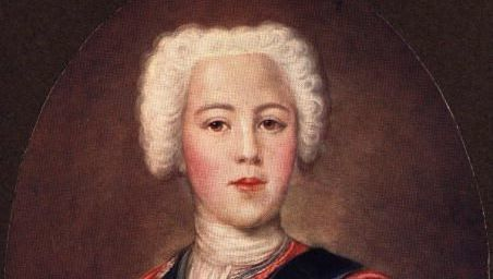 Illustration of a Bonnie Prince Charlie ,Charles Edward Stuart
