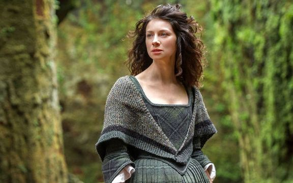 Caitriona Balfe as Claire Randall in Outlander.