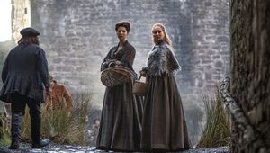 A still from the smash-hit show, Outlander, on Starz.