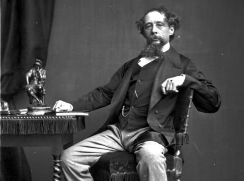 Charles Dickens, English novelist and one of the most popular writers in the history of literature.