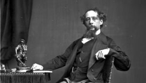 Charles Dickens (1812-1870), English novelist and one of the most popular writers in the history of literature. (Photo by John & Charles Watkins/Getty Images)