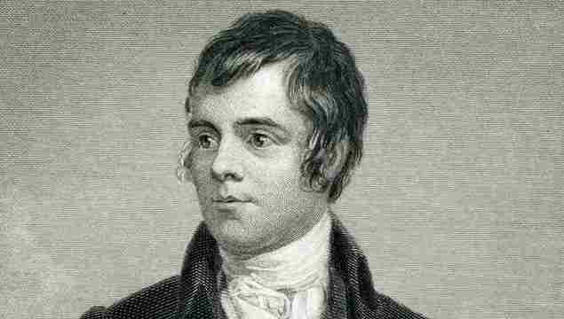 Engraving From 1873 Featuring The Scottish Poet, Robert Burns. Burns Lived From 1759 Until 1796.