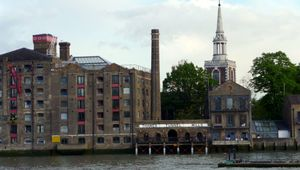 Thames Tunnel Mills, Rotherhithe, in South London.