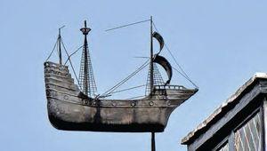 The Mayflower in London.