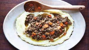 Mince and tatties! A sure fire Scottish favorite.