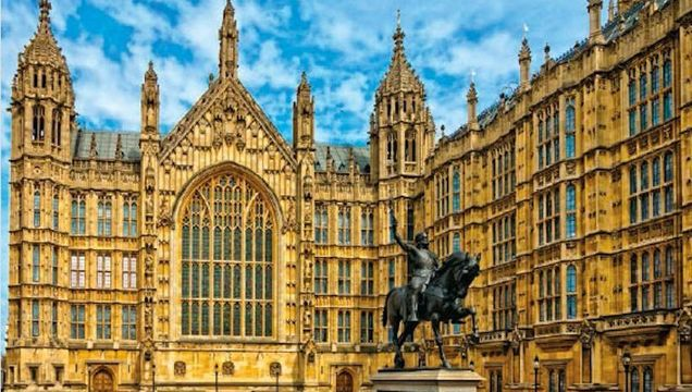 The Palace of Westminster, otherwise known as the Houses of Parliament, is a Victorian architectural icon.