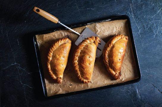 The delicious Cornish pasty.