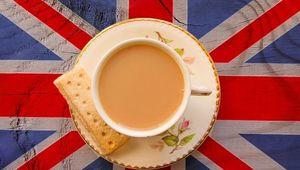 Thumb union jack tea