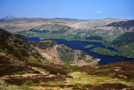 """Rob Roy: \""""The eponymous hero lived and died in the exquisitely beautiful countryside of Loch Katrine.\"""""""