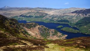 Featured in Rob Roy: Loch Katrine is a freshwater loch and scenic attraction in the Trossachs area of the Scottish Highlands.