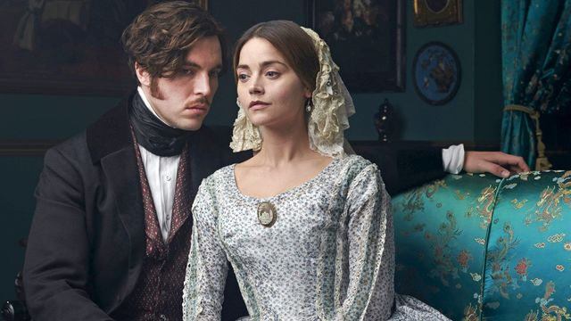 Queen Victoria & Prince Albert as portrayed in Victoria, season three