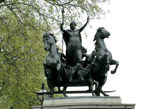 Queen of the British Celtic Iceni tribe, Boudica.
