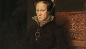 Portrait of Mary I of England, Queen of England.