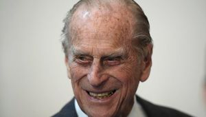 Prince Philip, Duke of Edinburgh tours the Brompton bicycle factory on November 28, 2016 in London, United Kingdom. (Photo by WPA Pool - Toby Melville /Getty Images)