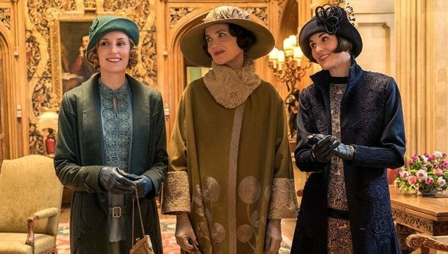 The Crawley women of Downton Abbey.