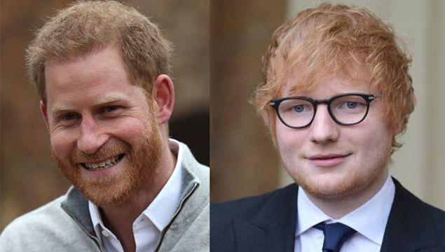 Ed Sheeran/Prince Harry