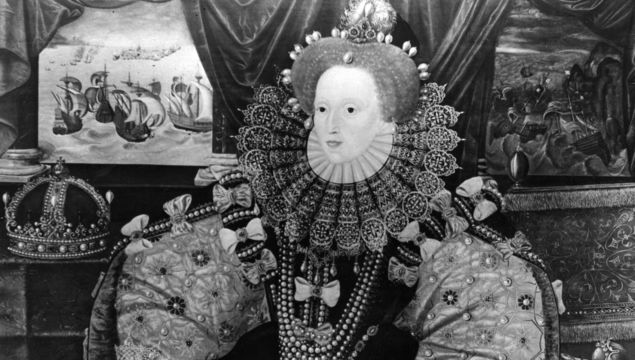 Circa 1565, The Queen of England, Elizabeth I (1533 - 1603), by Marc Gerrarts