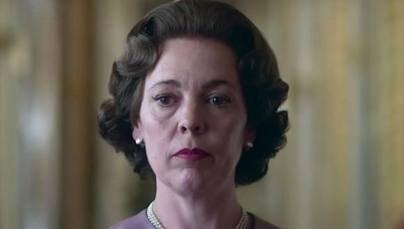 Olivia Colman as Queen Elizabeth II in The Crown season three