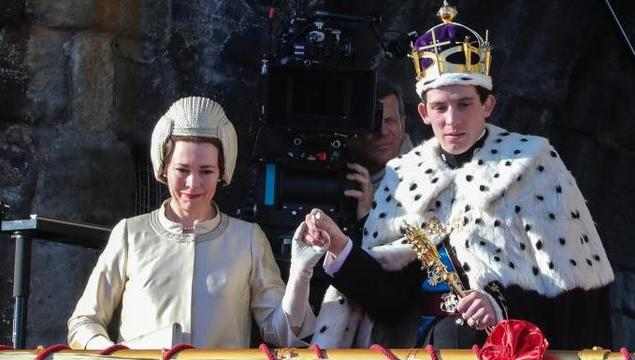 Olivia Colman as Queen Elizabeth II and Josh O\'Connor as Prince Charles