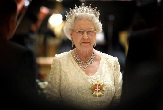 Britain\'s Queen Elizabeth II.