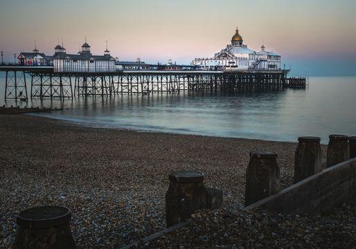 Eastbourne Pier, in East Sussex.