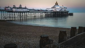 Thumb eastbourne pier  east sussex getty