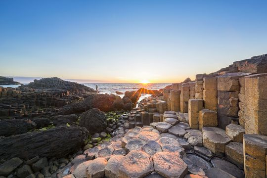 Giant\'s Causeway, Northern Ireland.