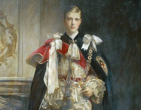 A young Edward VIII, when he was the Prince of Wales.