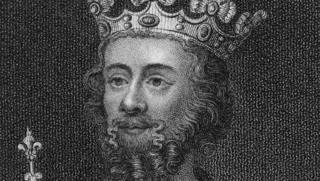 Circa 1307, Edward II of England (1284-1327).