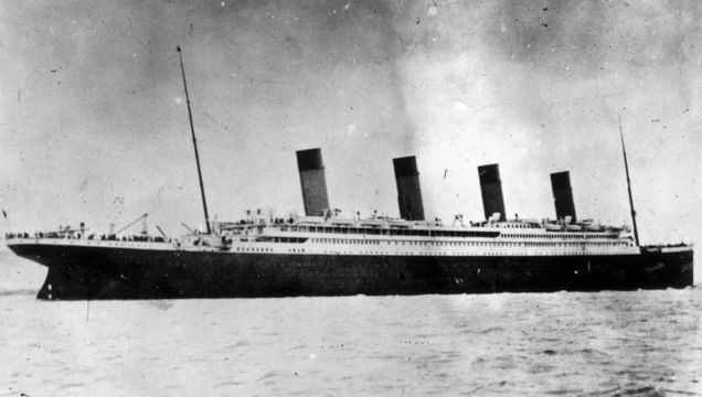 On April 3, 1912, Titanic arrived in Southampton after departing from Belfast.