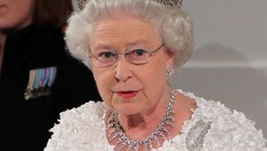 Queen Elizabeth II, or Gan Gan as Prince George calls her.