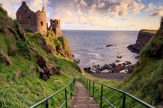 Dunluce Castle is just one of the many stunning Game of Thrones® filming locations in the UK