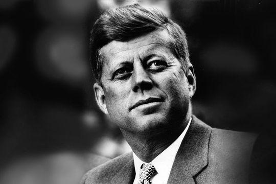Lover of all things English, the Irish American President John F. Kennedy.