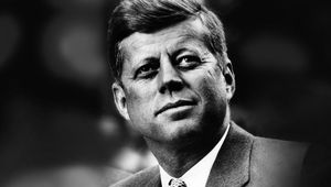 Lover of all things English, the Irish American President John F. Kennedy.