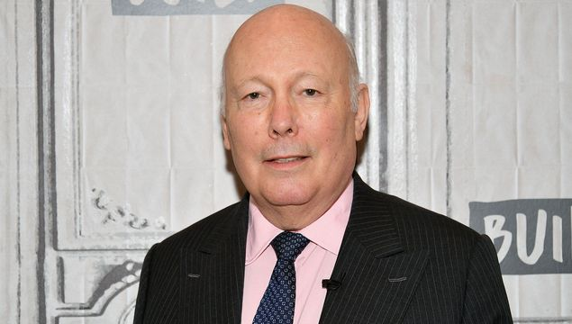 Julian Fellowes visits the Build Series to discuss \'The Chaperone\' at Build Studio on March 25, 2019 in New York City. (Photo by Dia Dipasupil/Getty Images)