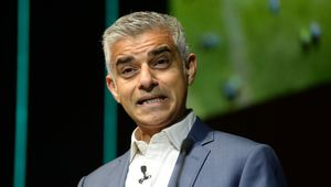 Sadiq Khan, Mayor of London during The Climate Change Conference held at Bloomberg London on December 12, 2018 in London, England