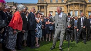 Princes Charles at the party