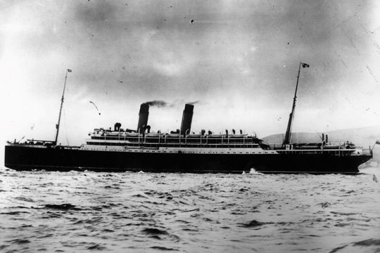 The Empress of Ireland ocean liner.