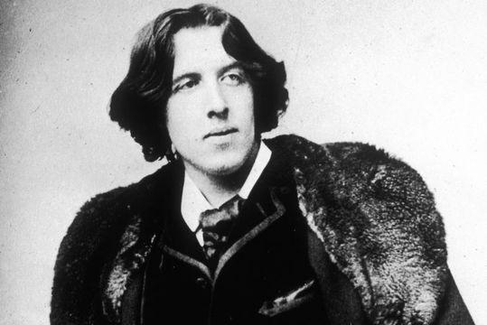 Irish author Oscar Wilde.