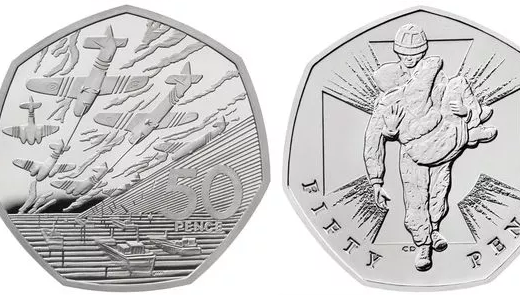 The collection includes five 50ps which span one thousand years of history (Image: ROYAL MINT)