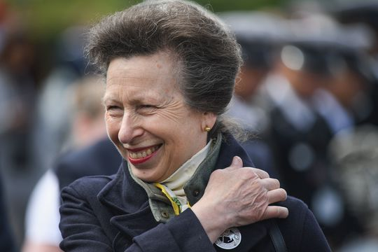 Princess Anne, Princess Royal attends The Royal Edinburgh Military Tattoo cast rehearsel at Redford Barracks on August 2, 2017 in Edinburgh, Scotland