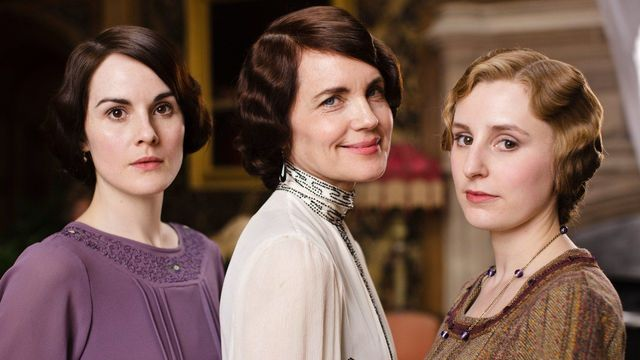 The Crawley women of Downton Abbey