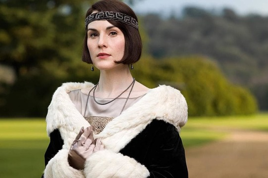 Michelle Dockery as Lady Mary in Downton Abbey