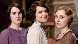 The Crawley women of Downton Abbey