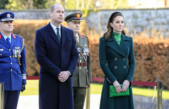 Prince William and Kate Middleton, aka Catherine, Duchess of Cambridge, during a recent trip to Ireland.