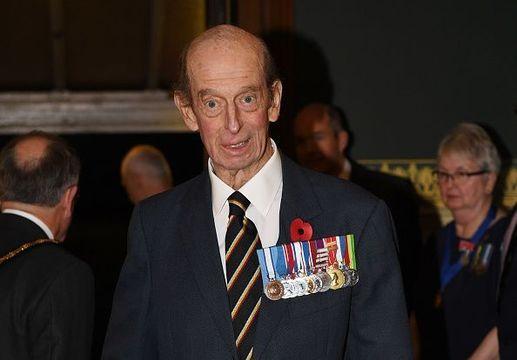 Prince Edward, Duke of Kent.