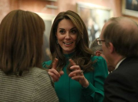 Kate Middleton, the Duchess of Cambridge.