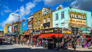 A corner of Camden Town, London.