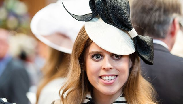Princess Beatrice attends a lunch after the National Service of Thanksgiving as part of the 90th birthday celebrations for The Queen at The Guildhall on June 10, 2016 in London, England